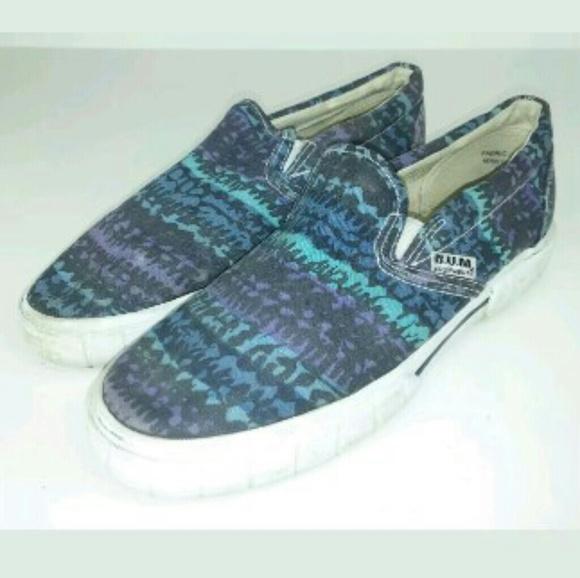 B.U.M. Equipment Other - B.U.M. Aztec Slides Skate Boat Shoes